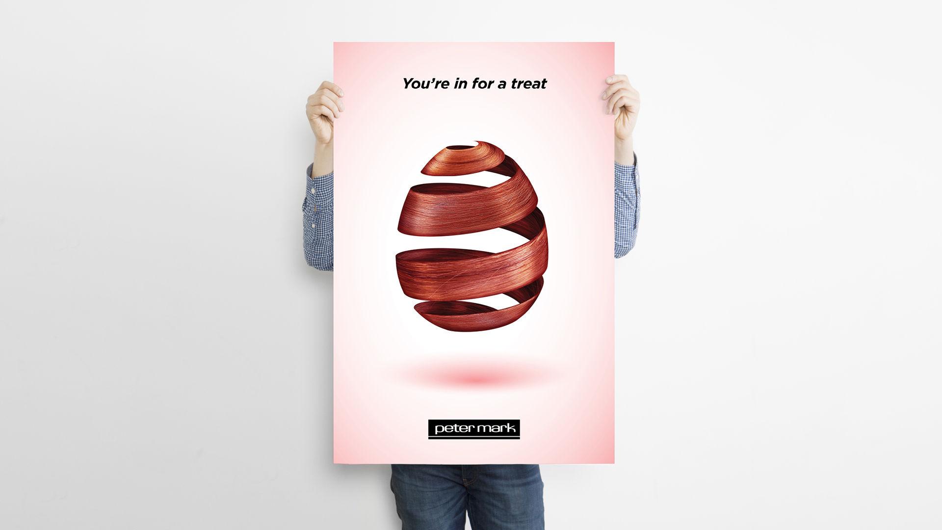 peter mark poster advertising